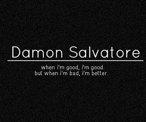 damon salvatore, bad, and better image