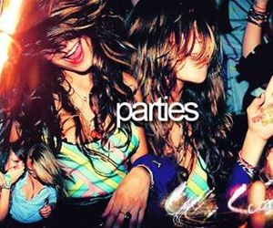 party, girl, and fun image