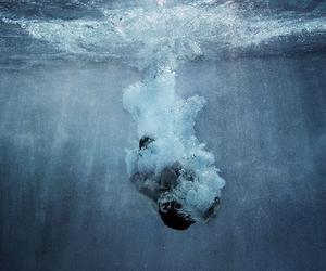deep, gun, and sea image