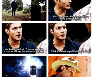 doctor who and supernatural image