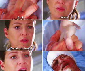007, quotes, and grey's anatomy image