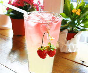 drink, fresh, and FRUiTS image