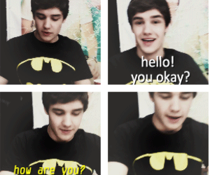 liam payne, one direction, and batman image