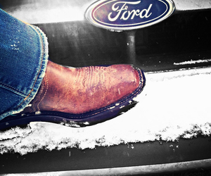 boots, country, and ford image