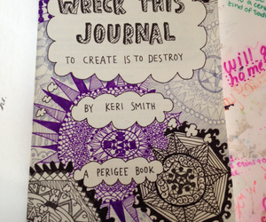 art, keri smith, and wreck this journal image