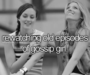 gossip girl, blair, and serena image