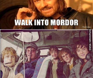 Sam, frodo, and funny image
