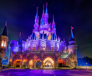 castle, photography, and disney image