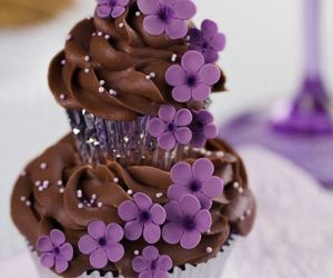 cupcake, sweet, and lovely image