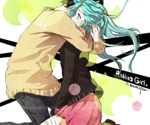 rolling girl, vocaloid, and hatsune miku image