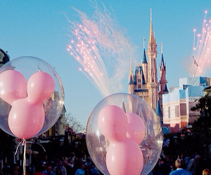 balloons, disney world, and cool image