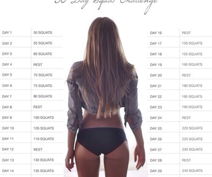 challenge, fitness, and workout image
