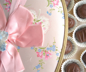 chocolate and pink image