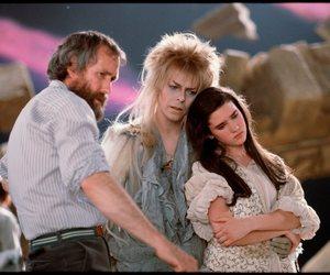 labyrinth, david bowie, and Jim Henson image