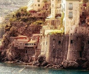 italy, sea, and boat image