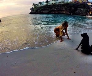 beach and cute image