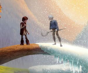 jack frost, hiccup, and how to train your dragon image