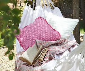 book, pink, and relax image