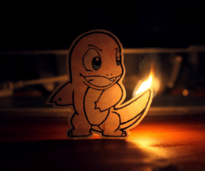 pokemon, charmander, and fire image