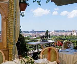 breakfast, italy, and rome image