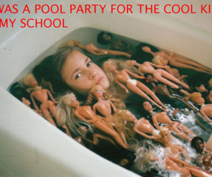 cool kids, party, and pool image