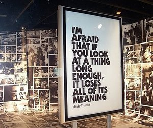 andy warhol, quote, and text image