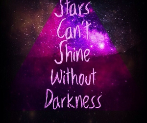 stars, quote, and shine image