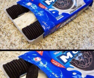 food, oreo, and yummy image