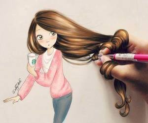 amazing, colors, and girl image