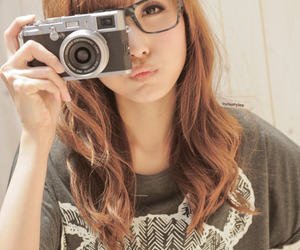 glasses, ulzzang, and cute image