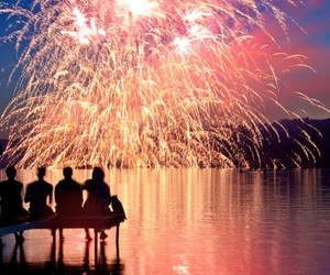 fireworks, fun, and lights image