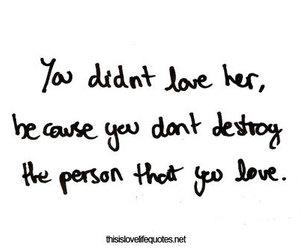 love, boy, and destroy image