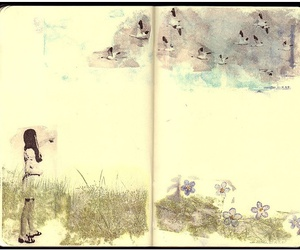 book, colour, and moleskine image