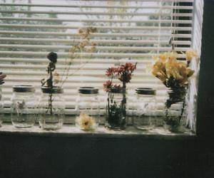 flowers, indie, and jar image