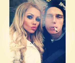 blonde, cigarette, and lovely image