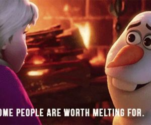 disney, olaf, and frozen image