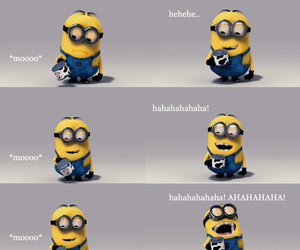 minions, funny, and despicable me image