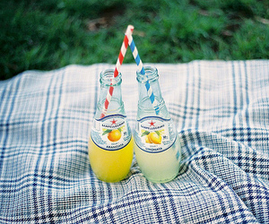 vintage, drink, and lemonade image