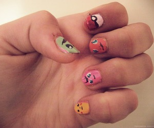 colors, fingers, and funny image