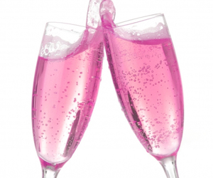 pink and champagne image
