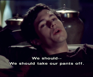 photo, text, and seth cohen image