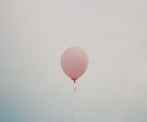 pink, balloon, and indie image