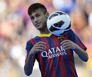 neymar, football, and Barcelona image
