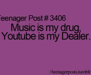 drugs, music, and youtube image