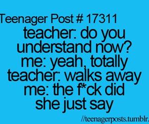 school, teacher, and teenager post image