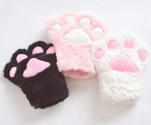 paws, cute, and cat image