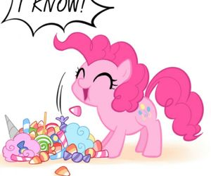 candy, MLP, and pinkie pie image