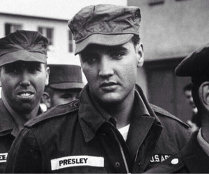 Elvis Presley, elvis, and army image