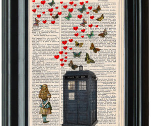 doctor who, fanart, and vintage image
