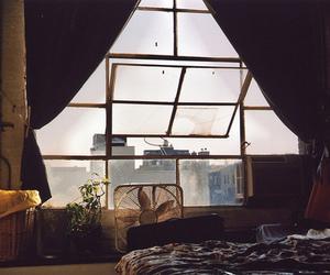 window, room, and vintage image